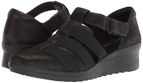 b1c01a98d45 CLARKS Women s Caddell Shine Sandal