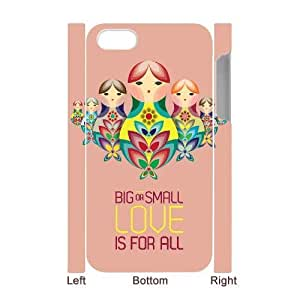 Personalized Russian Doll iPhone 4 3D Case, Russian Doll Customized 3D Case for iPhone 4, iPhone 4s at Lzzcase
