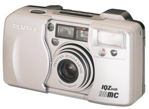 Pentax IQ Zoom 90MC Quartz Date Camera (Zoom Pentax Iq)