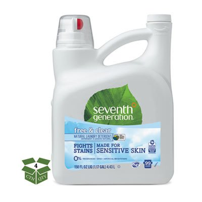 SEV22803CT - Natural 2X Concentrate Liquid Laundry Detergent