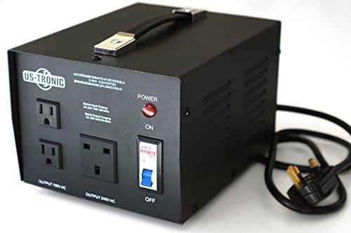 ☆ New US-TRONIC® 1500 WATT heavy duty step up down voltage SPECIAL JAPAN  transformer converter ☆ Step up down 100V 110V 230V 240V ☆ Protect your 100  V ... 4edc4801653