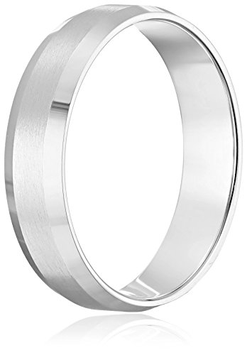 Mens-10k-Gold-Comfort-Fit-Plain-Wedding-Band-with-Satin-Center-and-Beveled-Edges-6-mm