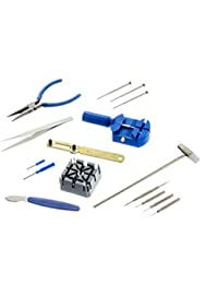 JT6221 16-Piece Watch Repair Tool Kit