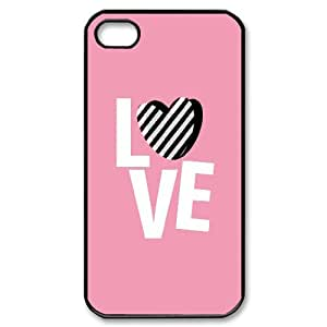 AKERCY Love Pink Phone Case For Iphone 4/4s [Pattern-5]