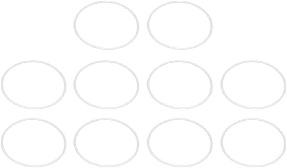 IMIKEYA 10 Piezas Anillo de atrapasueños Anillos de plástico Aros círculo artesanías de aro para DIY Accesorio de atrapasueños 25 cm