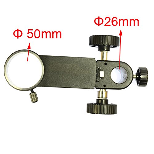 Big Heavy Duty Metal Boom Stereo Microscope Camera Table Stand Holder 50mm Ring by hayear (Image #3)