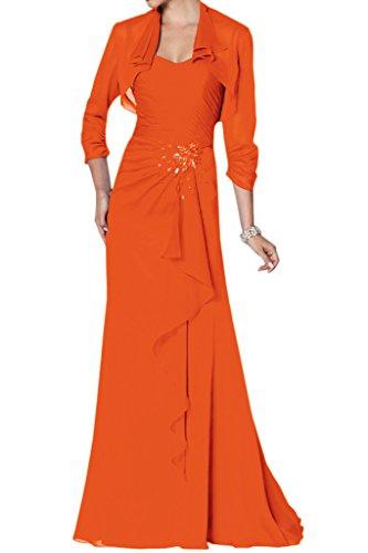 a Donna Vestito linea ad Ivydressing Arancione RPAfO6