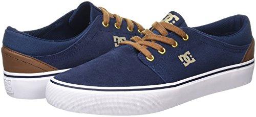 Azul Hombre Dc Khaki navy Zapatillas Trase Shoes Para Sd nXwvxOY6wq