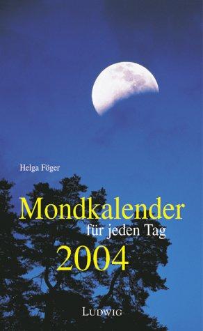 Mondkalender für jeden Tag 2004, Abreißkalender
