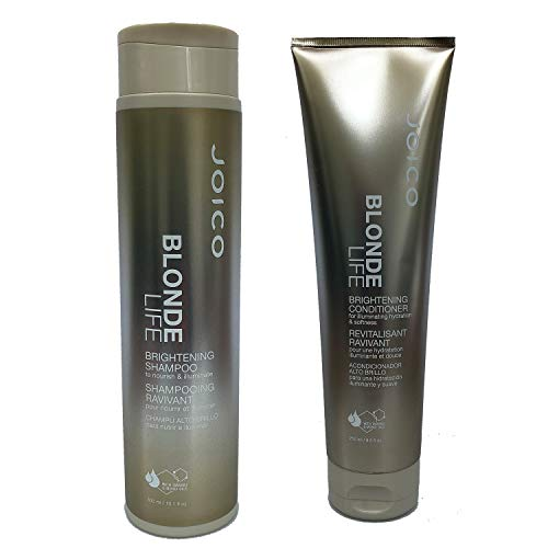 New Double Strand (Joico Blonde Life Brightening Shampoo 10.1 fl oz and Conditioner 8.5 fl oz Duo)