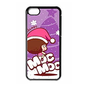 Christmas theme style For iPhone 5C Csaes phone Case THQ139315