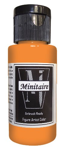 - Badger Air-Brush Company 2-Ounce Bottle Miniature Airbrush Ready Water Based Acrylic Paint, Ghost Tint Orange