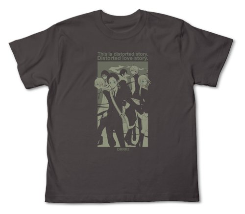 ! Durarara Durarara T-shirt Charcoal Size:!! XS (japan import)