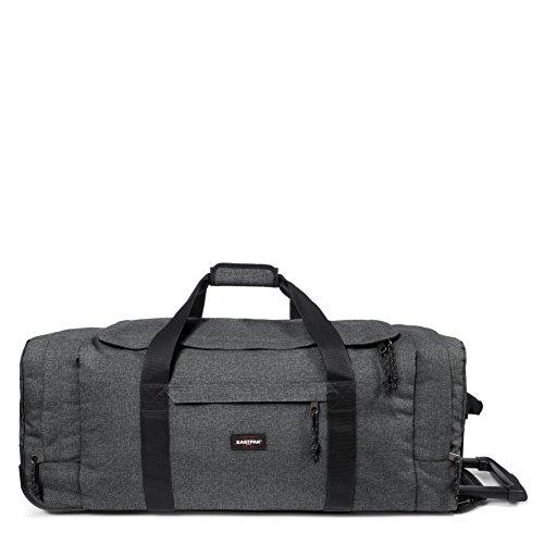 Eastpak Leatherface L Wheeled Luggage, 87 cm, 98 L, Black (Black Denim)