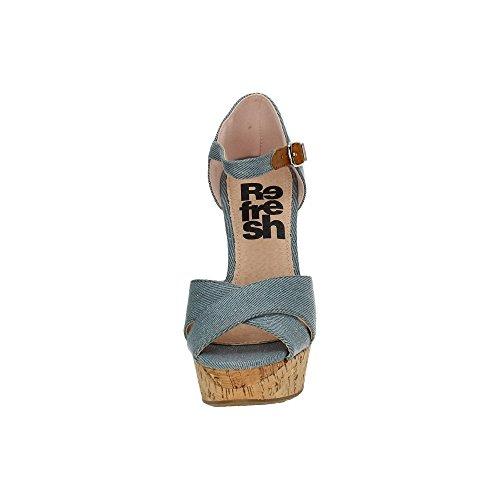 Refresh Femme Jeans Refresh Sandales Sandales dn4Sdz