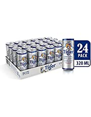 Tiger Crystal Beer Can, 320ml (Pack of 24)