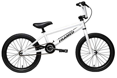 Framed Impact 18 BMX Bike Kid's Sz 18in White/Black