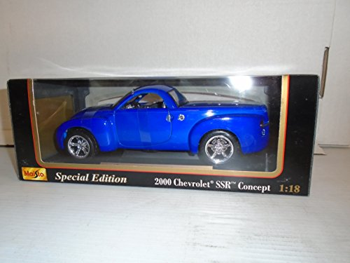 Maisto 1:18 Special Edition 2000 Chevrolet SSR Concept Die Cast - Chassis Ssr