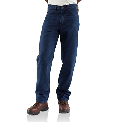 Men's Carhartt® Flame Resistant Relaxed Fit Jeans, 32&qu