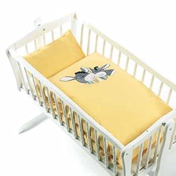 Sterntaler 92662 Baby Bettwäsche Emmi Esel 80 80 Cm Amazonde