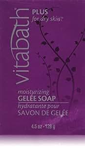 Vitabath Gelee Soap, Moisturizing, Plus For Dry Skin, 4.5 Ounce