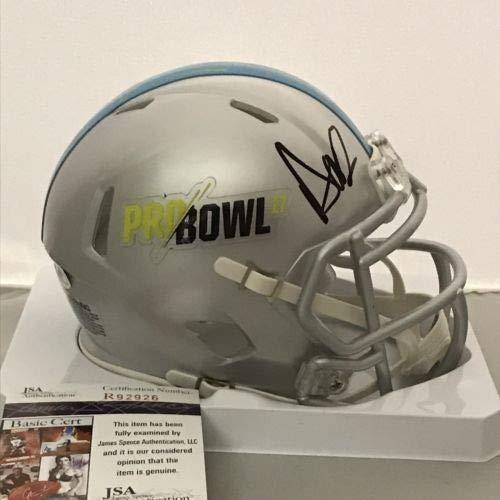 Autographed Signed Dak Prescott Pro Bowl Dallas Cowboys Mini Helmet - JSA Authentic