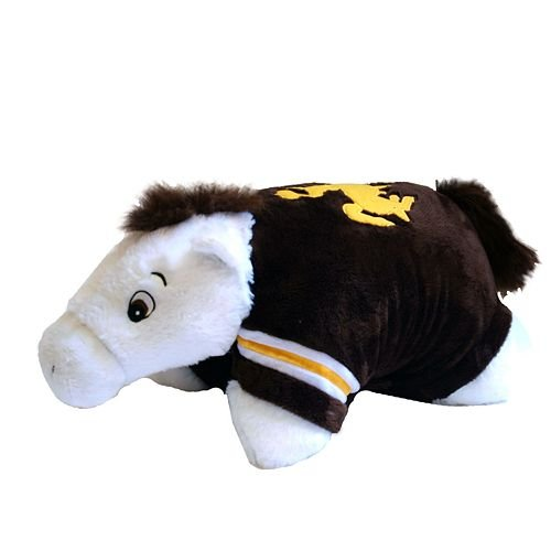 - Fabrique Innovations NCAA Pillow Pet, Wyoming Cowboys