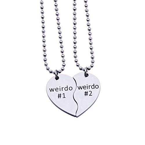 SNOWLIN Weirdo 1 and Weirdo 2 Pendant