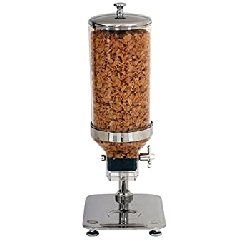 Nextday Catering Equipment Supplies nev-cd85 dispensador de cereales, acero inoxidable, 8,
