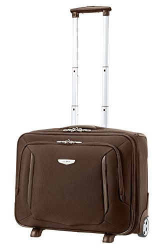 "Samsonite Trolley X'blade Business 2.0 Rolling Tote 17.3"" 28.5 liters Marrone (Dark Brown) 57815-1251"
