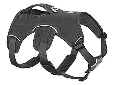 RUFFFWEAR Ruffwear - Web Master Dog Harness with Lift Handle, Twilight Gray, X-Small