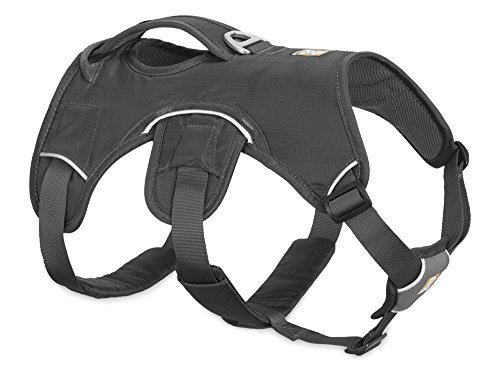RUFFWEAR - Web Master Dog Harness with Lift Handle, Twilight Gray, Medium by RUFFWEAR