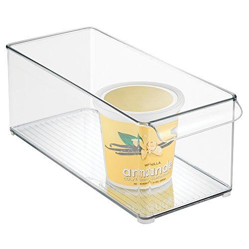 mDesign Refrigerator and Freezer Storage Organizer Bin for Kitchen - 6