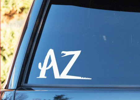 Arizona AZ Snake Cactus Native Desert - Vinyl Decal - Car Truck Laptop - SELECT SIZE ()