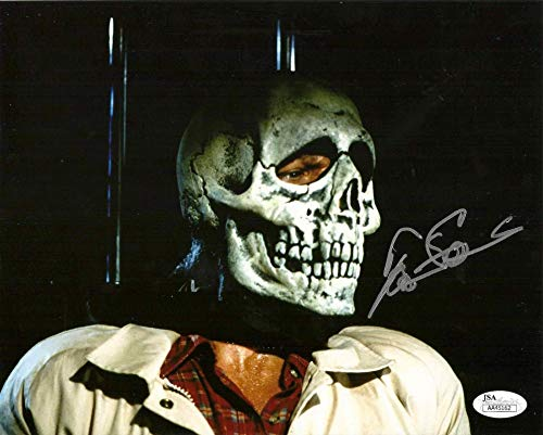 Tom Atkins signed 8x10 Photo Halloween 3 JSA