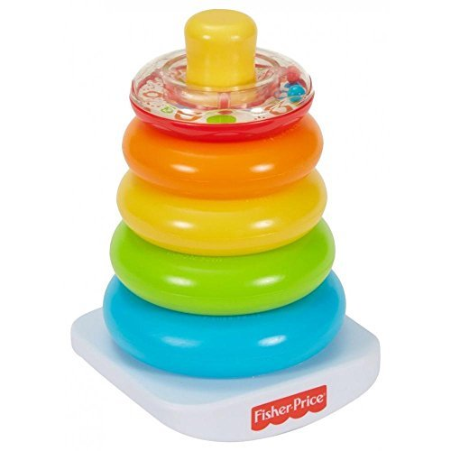 Fisher Price Baby Brilliant Basics Rock A Stack And Grasp Learning And Developmental Toys For Toddler