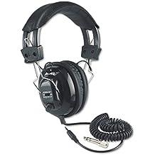 Amplivox SL1002 Deluxe Stereo Leatherette Headphones with Mono Volume Control