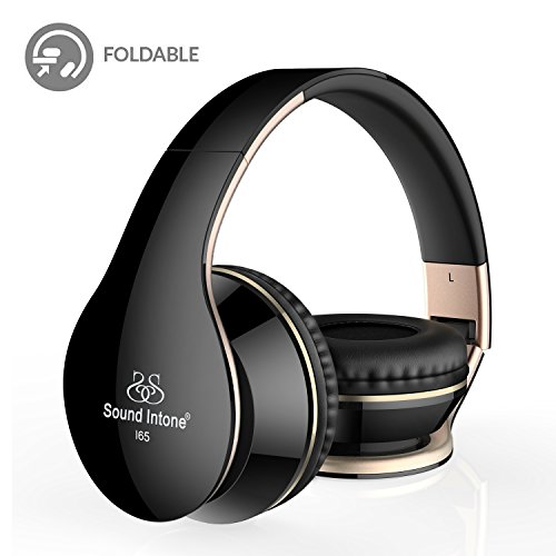 gold iphone headphones headphones sound intone i65 foldable headphone with 10715