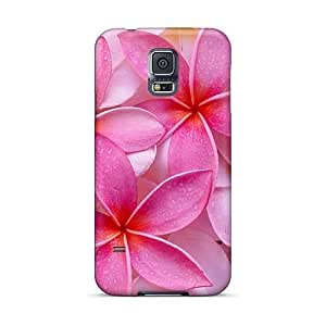 Excellent Hard Phone Case For Samsung Galaxy S5 (gEj8611DmKY) Allow Personal Design Stylish Tropical Plumeria Image