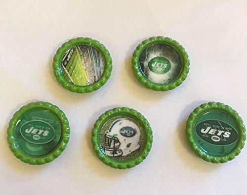 New York Jets NFL Magnet Set