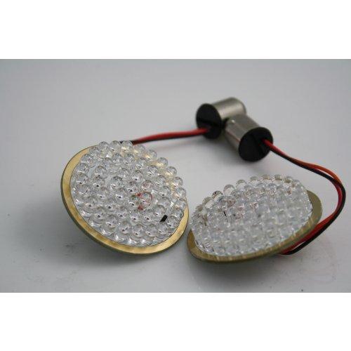 [해외]할리 데이비슨 용 GEN-200-R-1157 적색 LED 1157 전구/Custom Dynamics GEN-200-R-1157 Red LED 1157 Bulb for Harley-Davidson