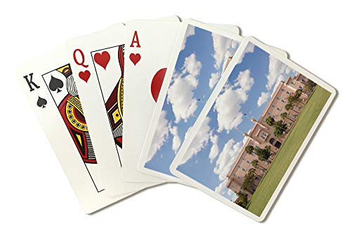 Charleston, South Carolina - Old Citadel Building - Photography A-93111 (Playing Card Deck - 52 Card Poker Size with Jokers)