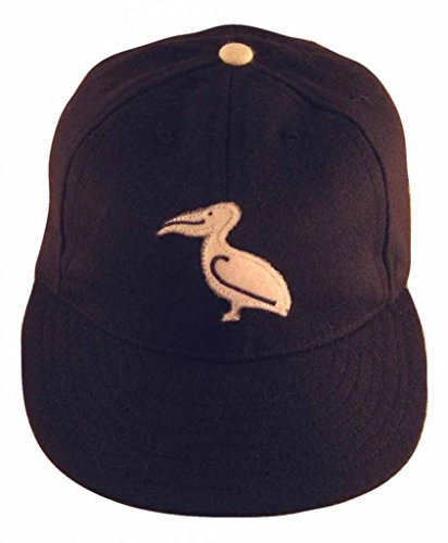 Ideal Cap Co. New Orleans Pelicans Vintage Baseball Cap 1943 7 3/4 Navy/White (Ideal Cap Company compare prices)