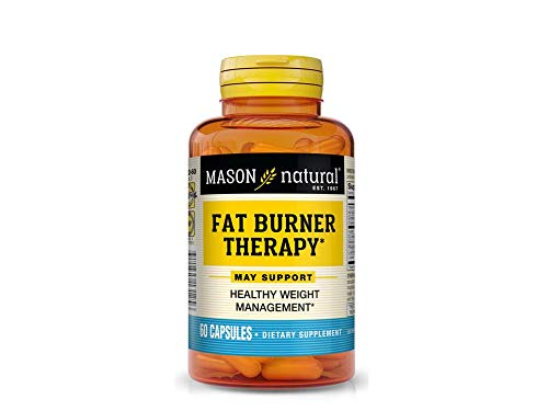 Mason Natural Fat Burner with Chromium Picolinate L-carnitine and Iron Capsules - 60 Count