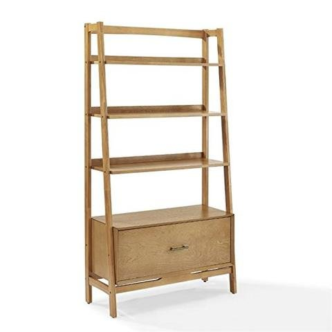 ioneyes Furniture Landon Large Etagere Bookcase - - Large Etagere