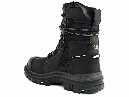 Caterpillar Men's Mortise 8'' Waterproof Work Boot Composite Toe Black 11.5 D(M) US by Caterpillar (Image #4)
