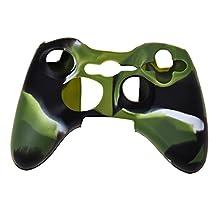 SODIAL(R) Silicone Skin Case Cover For Xbox 360 Xbox360 Controller