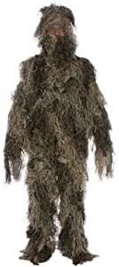3 Piece Ghillie Suit - One Size Fits All Teens - Sniper Costume for Airsoft, Paintball, and Outdoors By Modern Warrior