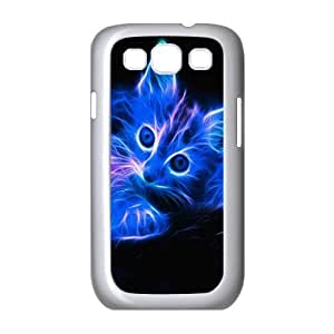 CAT YT8056119 Phone Back Case Customized Art Print Design Hard Shell Protection Samsung Galaxy S3 I9300