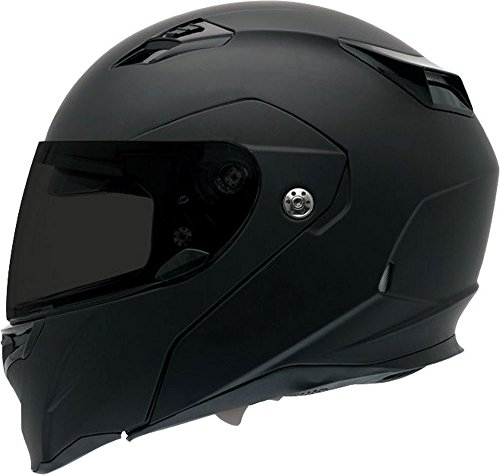 Bell Revolver Evo Full-Face Motorcycle Helmet (Solid Matte Black, Large) Domain Cheek Pads